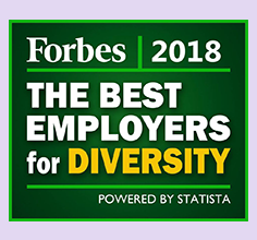 Forbes 2018 The Best Employers for Diversity